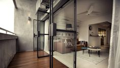 G Maisonette, Singapore by 0932 Design Consultants, via Behance