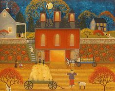Autumn Memories Print By Mary Charles