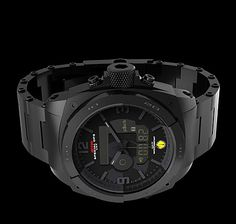 c12bb18271f MTM Black RAD Tactical Watch For Radiation Detection -  1500 Relógios  Legais