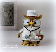 Hey, I found this really awesome Etsy listing at https://www.etsy.com/listing/237222243/doctorette-the-owl-amigurumi-pdf-crochet