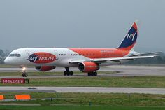 MyTravel Airways Boeing 757-225 (registered G-JALC)
