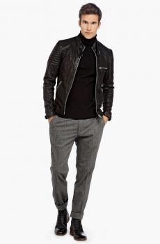 Products   miX miX colleXions Stylish Coat, Winter Dresses, Leather Jacket, Mens Fashion, Jackets, Collection, Black, Design, Suit
