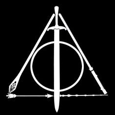 Deathly Hallows Geek Vinyl Car Decal / Game of Thrones, Star Wars,Lord of the Rings, Harry Potter, HG