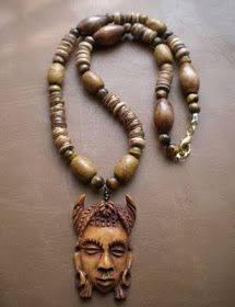Five years ago I found the need to create African and tribal jewelry for men. In my searches I rarely found pieces ...