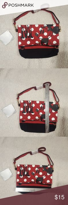 Minnie mouse cross body purse Minnie mouse cross body purse. Was given to  me as 89caa70c79fa4