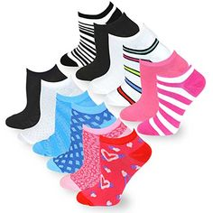 TeeHee Women's Fashion No Show Fun Socks 12 Pairs Packs (... https://www.amazon.com/dp/B0197NEB0K/ref=cm_sw_r_pi_dp_U_x_dvlPAbG70Y13R