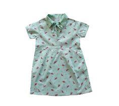 VINTAGE 40/50's / enfant / robe été / coton par Prettytidyvintage