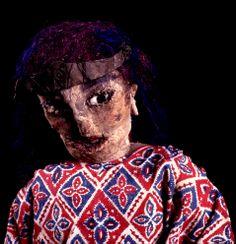 Muñeca de trapo de tamaño real representando a una mujer guajira,  fabricada  por el artista venezolano Armando Reverón en su casa-taller de Macuto, El Castillete. [©2007-2014 Fotografía de Luis Brito / Orinoquiaphoto]