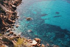 magical water of Ibiza