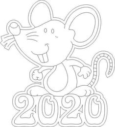 Mouse happy new year 2020 Chinese New Year Crafts For Kids, Chinese New Year Dragon, Chinese New Year Activities, Chinese New Year Party, Chinese New Year Design, Chinese New Year Decorations, Chinese Crafts, New Years Activities, New Years Decorations