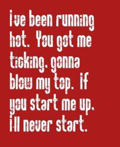 Rolling Stones - Start Me Up - song lyrics, music lyrics, song quotes