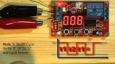 nano arduino triggering relays using time from rtc relay timer rh pinterest com 4 Pin Relay Wiring Diagram 5 Pole Relay Wiring Diagram