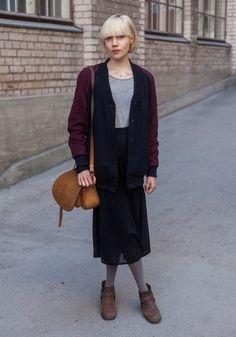 Inari - Hel Looks - Street Style from Helsinki #modestfashion #modestdress #tzniutfashion #classicdress #formaldress #kosherfashion
