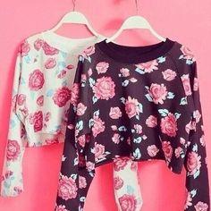 Such pretty floral tops!  #shirt #floral #pretty