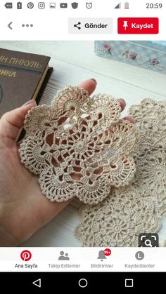 Best 12 6 cream crochet doilies etsy – skillofking com Crochet Chart, Thread Crochet, Crochet Motif, Crochet Doilies, Knit Crochet, Crochet Stitches, Crochet Flower Patterns, Crochet Designs, Crochet Flowers