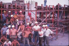 Factory 2 construction form and steel crew (Roger Johnson)
