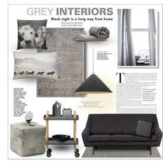 Shades of Grey Interior.. Black, grey.. Livingroom