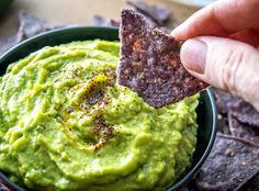 Avocados and chickpeas combine to make this spicy avocado hummus one of the creamiest, most delicious dips you'll ever have. Super easy to make too!