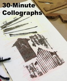 30-Minute Collograph Printmaking