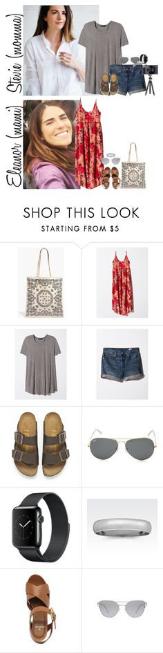 """Sunday // Out for Lunch & At the Park // 7.2.17"" by graywolf145 ❤ liked on Polyvore featuring Madewell, Birkenstock, Ray-Ban, Mulberry and StevieandEleanor"