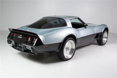Designed and engineered by Vince Granatelli – son of STP CEO and racing team owner Andy Granatelli – the '78 Vette is capable of accelerating from 0 to 60 mph in only 3.2 seconds. Look closely and you'll see the exhaust outlet spans the entire width of the Corvette's tail.