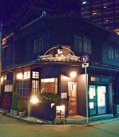 谷町6丁目の空掘周辺にあるビストロ、レクレール。日本家屋の雰囲気をそのまま使った素敵な空間。