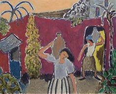 'From Sta Cappucini, Syrakus, Sicily' by Norwegian artist Johs. (Johannes) Rian Oil on board, x in. via pink pagoda studio Matisse Kunst, Matisse Art, 10 December, South Of France, Figure Painting, Norway, Images, Fine Art, Sicily
