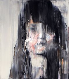 Andy Denzler, Distorted Face II, Oil on canvas, 80 x 70 cm, 2009