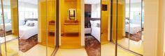 Apartamento 3 Quartos Decorado Terra Mundi Parque Cascavel - Closet Suíte Master