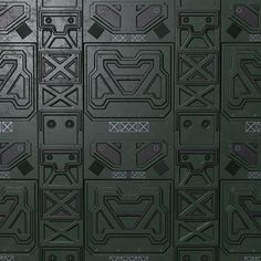 PBR seamless sci fi texture pack model low-poly asset fiction game interior, ready for animation and other projects Spaceship Interior, Futuristic Interior, 3d Texture, Texture Packs, Metal Texture, Star Wars Spaceships, 3d Printing Diy, Sci Fi Environment, Sci Fi Models