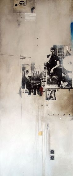 Distraction - William Goodman   abstract mixed-media artist