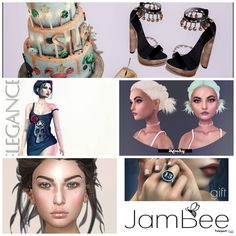 Several Second Life 13 Birthday Gifts at Tres Chic June 2016 Round