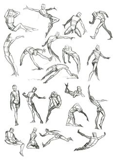 Body illustrations.