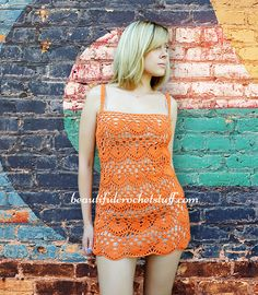 This crochet tunic is a perfect thing for any occasion. You can use this beach outfit resource for dressy to casual outfits.