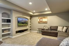 Basement home theater ideas, DIY, small spaces, budget, medium, inspiration, awesome, concession stands, TVs, decor, projectors, rec rooms, sofas, stairs, bedrooms and entertainment center