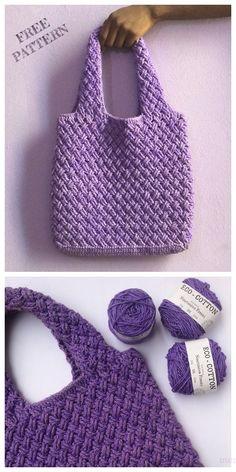 Bag crochet Celtic Weave Tote Bag Free Crochet Pattern Sacola celta do Weave Teste padrão livre do Crochet Crochet Beach Bags, Crochet Market Bag, Crochet Amigurumi, Crochet Tote, Crochet Handbags, Crochet Purses, Crochet Crafts, Free Crochet Bag, Diy Crafts