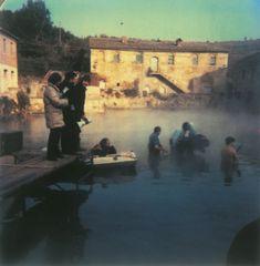 On the set of Nostalghia (1983)