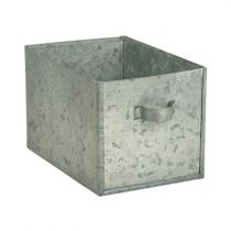 Schublade aus Zink