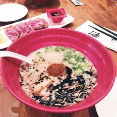 Dinner is served! Ramen x Beef Tataki by gsiang