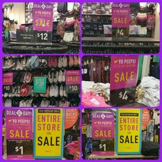 So many deals, so little time! We've brought back your favorite Deals of the Day just for you! Come in and check out $12 flip flop/sundresses, $4 print leggings, $4 tank tops, $10 canvas casual shoes & bogo $1 guys casual tees (select styles)! Everything is on sale! You gotta check this out!  #dealoftheday #guystees #girlstanks  #printleggings #dresses #canvasshoes #fashion #fragrance #doubleruebucksweekend #yopeeps #entirestoreonsale #bogodeals #clearance #rue21 #ruelove #1280rocks