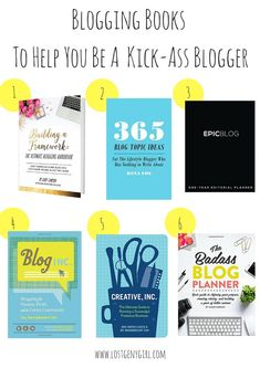 Blogging Books To Help You Be A Kick-Ass Blogger