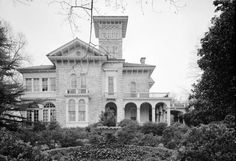Annesdale: Built in 1850 on Lamar Avenue. The home was Originally built by Dr. Samuel Mansfield, a wholesale druggist from Maryland, on 200 acres on the outskirts of Memphis. 19 years later, Colonel Robert Brinkley bought the estate as a wedding gift to his daughter Annie and at that time, it was named Annesdale, for Annie's Dale. Since 1869, Annesdale has been home to the same family for at leat 7 generations. It is Italian Villa in style, built with bricks made on the site.