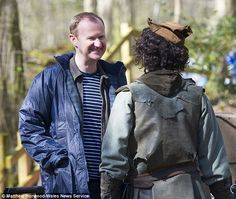 Double whammy: Gatiss will write two episodes for the series having already written six