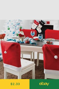 Ebay Uk Christmas Chair Covers Banquet On Santa Hat Avon Online Marketing Group Pinterest Nativity Items Home Garden