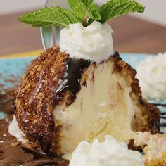 If you've ever had fried ice cream at a restaurant and thought to yourself,