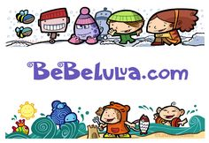 BEBELULUA. Ilustración publicitaria – Lagruaestudio