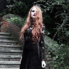 Be the queen this halloween. Olivia Emily styles and models our range of Halloween jewellery. Stay spooky. #halloween #queen #goth #witch #oliviaemily