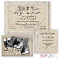 Abigail Wedding Announcement by RoseyMae Wedding Paper Design. Whimsical Wedding Invitations, Elegant Invitations, Whimsical Fashion, Wedding Announcements, Wedding Paper, Paper Design, Getting Married, Burlap, Rustic