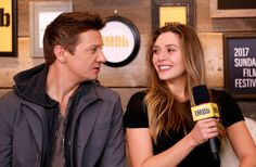 Actors Elizabeth Olsen and Jeremy Renner attend The IMDb Studio, during The 2017 Sundance Film Festival Jan 22, 2017