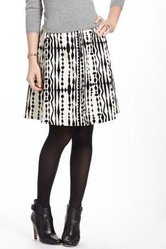 Blotted Cord Skirt